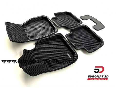 3D Коврики Euromat3D EVA В Салон Для BMW X1 (F48) (БМВ Х1 (Ф48)) № EM3DEVA-001220